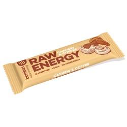 Bombus tyčinka raw energy kešu a káva