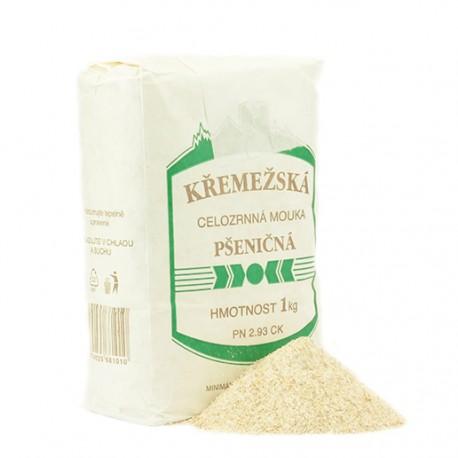 Celozrnná múka pšeničná