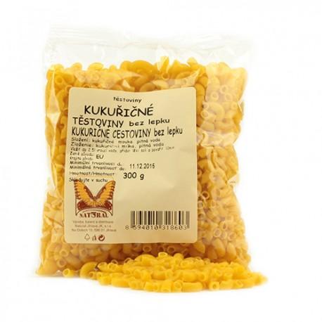 Kukuričné cestoviny kolienka