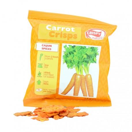 Crispy mrkvové plátky